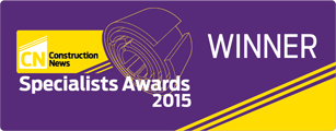 Construction News Specialist Awards 2015 - Winner